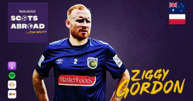 Ziggy Gordon on The Scots Abroad Podcast