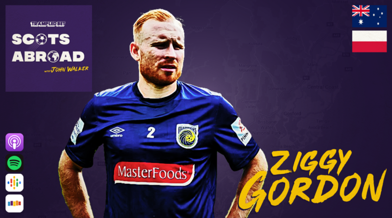 Ziggy Gordon on The Scots Abroad Podcast