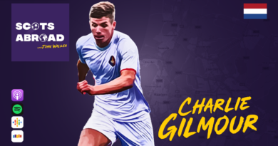Charlie Gilmour on The Scots Abroad Podcast