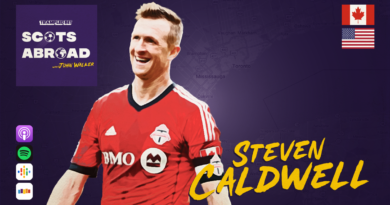 Steven Caldwell on The Scots Abroad Podcast
