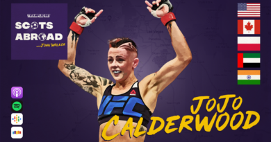 JoJo Calderwood on The Scots Abroad Podcast
