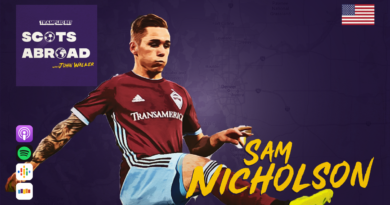 Sam Nicholson on The Scots Abroad Podcast