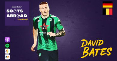 David Bates on The Scots Abroad Podcast