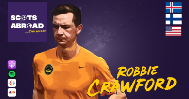 Robbie Crawford on The Scots Abroad Podcast