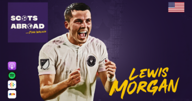 Lewis Morgan on The Scots Abroad Podcast